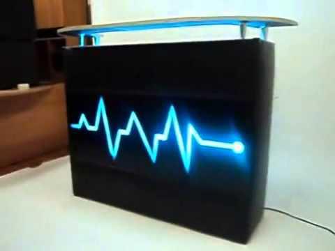Barra iluminada con leds de tecno rockolas youtube - Barras de bar iluminadas ...