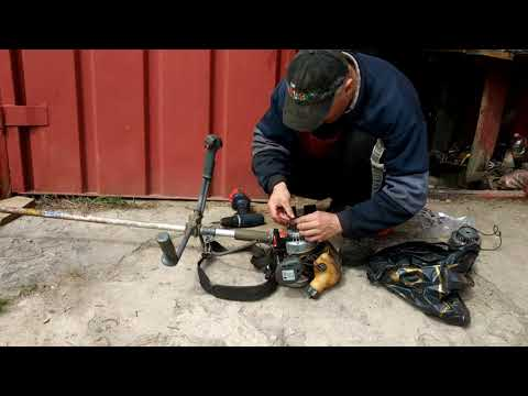 Замена стартера мотокосы Oleo Mac Sparta 25