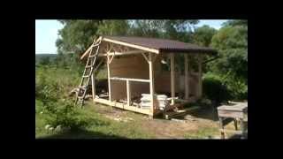 Строительство беседки на даче!(, 2013-07-19T12:43:08.000Z)