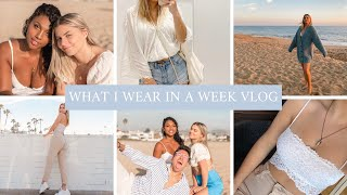 What I Wear In A Week Vlog: Tarte Event, Newport Beach/Balboa Island, Valentine's Day Party