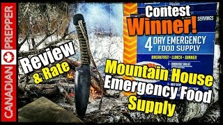 Mountain House THE BEST SURVIVAL FOOD! | Canadian Prepper