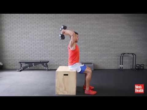 Rolling Overhead Triceps Extension