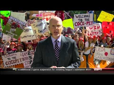 College Gameday Columbia, SC 2012 ESPN