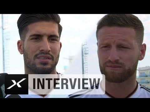 Shkodran Mustafi und Emre Can über Medienkritik verärgert | Confederations Cup