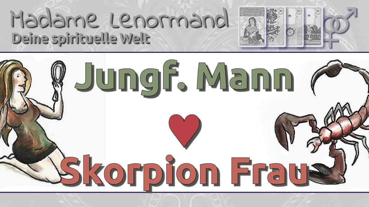 Skorpionfrau Und Jungfraumann