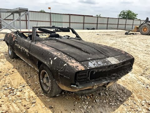Barn Find: Jackpot Insurance Salvage - 1969 Camaro Indy Pace Convertible