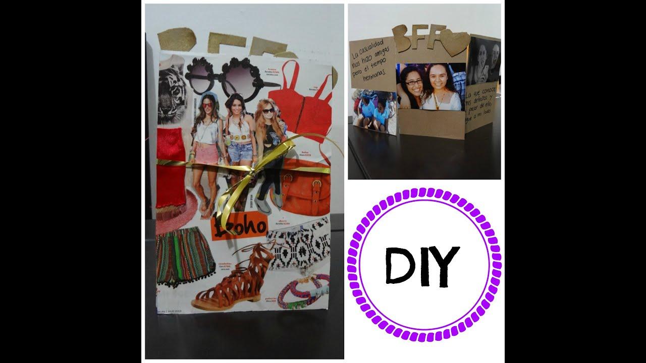 Qu le regalo a mi mejor amiga en su cumplea os hechos por mi con fotos f cil y reciclado - Regalos de cumpleanos originales para mi mejor amiga ...