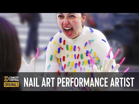 The Life of a Nail Art Performance Artist – Mini-Mocks