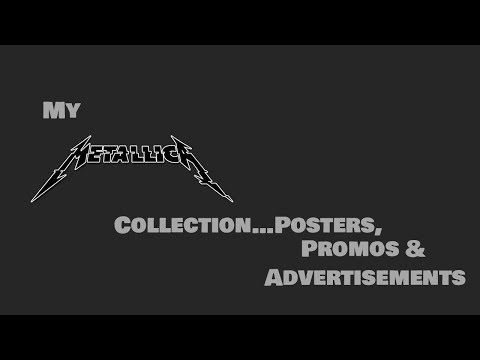 my-metallica-collection---posters,-collectibles-&-various-merchandise