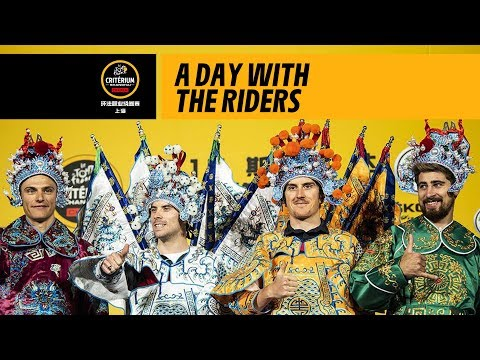 A day with the riders – 2018 Tour de France Škoda China Critérium