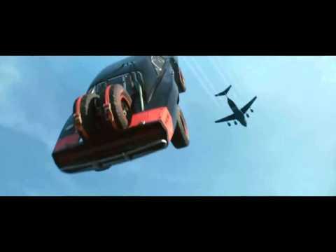 FURIOUS 7 Plane Drop Scene