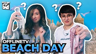 WHAT IS THIS?! OFFLINETV PLAY BEACH GAMES ft. Michael Reeves Pokimane LilyPichu Scarra