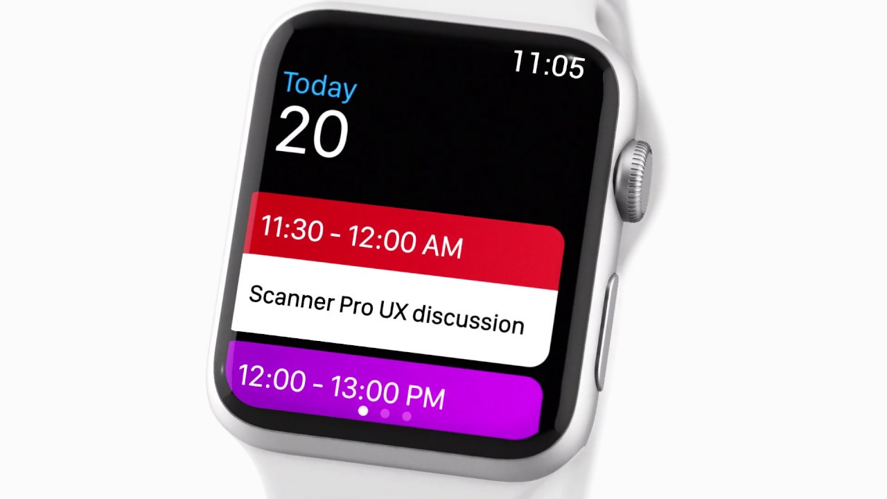 Calendars 5 by Readdle adds a stunning Apple Watch app