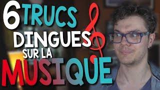CHRIS : 6 Trucs Dingues Sur la Musique