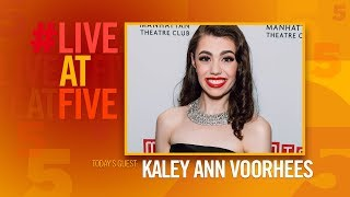 Video Broadway.com #LiveatFive with Kaley Ann Voorhees of PRINCE OF BROADWAY download MP3, 3GP, MP4, WEBM, AVI, FLV Oktober 2017