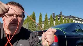 Jak otworzyć samochód BMW E39 bez akumulatora lub z rozładowanym akumulatorem