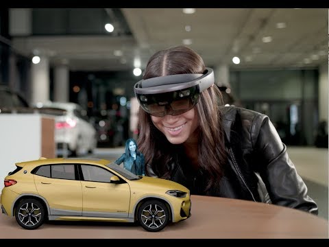 Microsoft Holographic Experience with BMW X2 – Extended Version | Microsoft