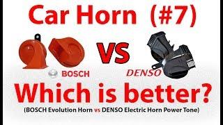 BOSCH Evolution Horn vs DENSO Horn Car Horn Comparison 7