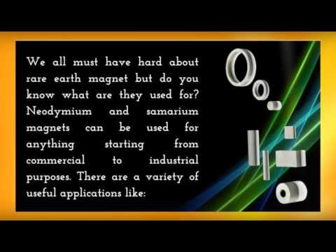 Why Samarium Cobalt Magnets Is More Effective Amongst REE?