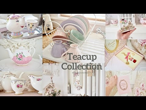 My Teacup collection and how I display them in my home