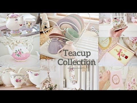 Teacup Haul, Shabby chic teacup collection.
