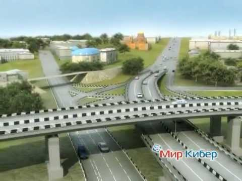 Строительство развязки у автовокзала в Новосибирске