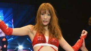 Repeat youtube video 赤井英和の娘・沙希、プロレスデビュー戦で快勝