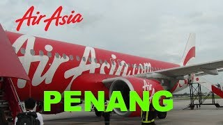 Video MY £20 RTN FLIGHT from Kuala Lumpur to Penang, Malaysia with Air Asia trip review download MP3, 3GP, MP4, WEBM, AVI, FLV Juli 2018