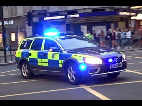 British Transport Police ARV Responding
