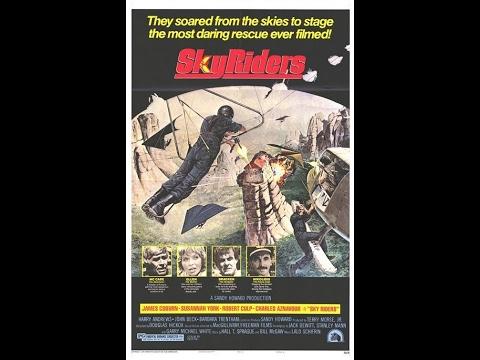 SPAGHETTI WESTERN Sky Riders (1976) James Coburn, Susannah York and Robert Culp