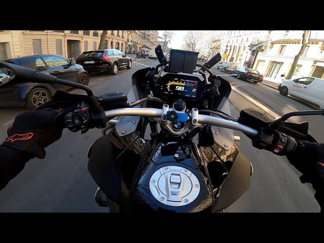 JE TESTE LE BMW R 1200 GS À PARIS ! UN CHEVAL !