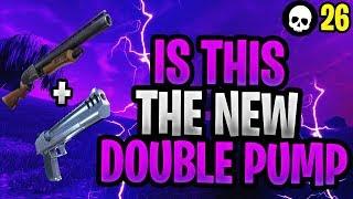 Is Shotgun + Deagle The NEW Double Pump? (Fortnite Shotgun + Hand Cannon Tips)