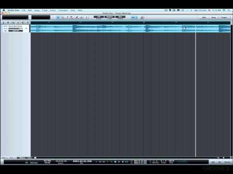Matching Tempo (Studio One Advanced)