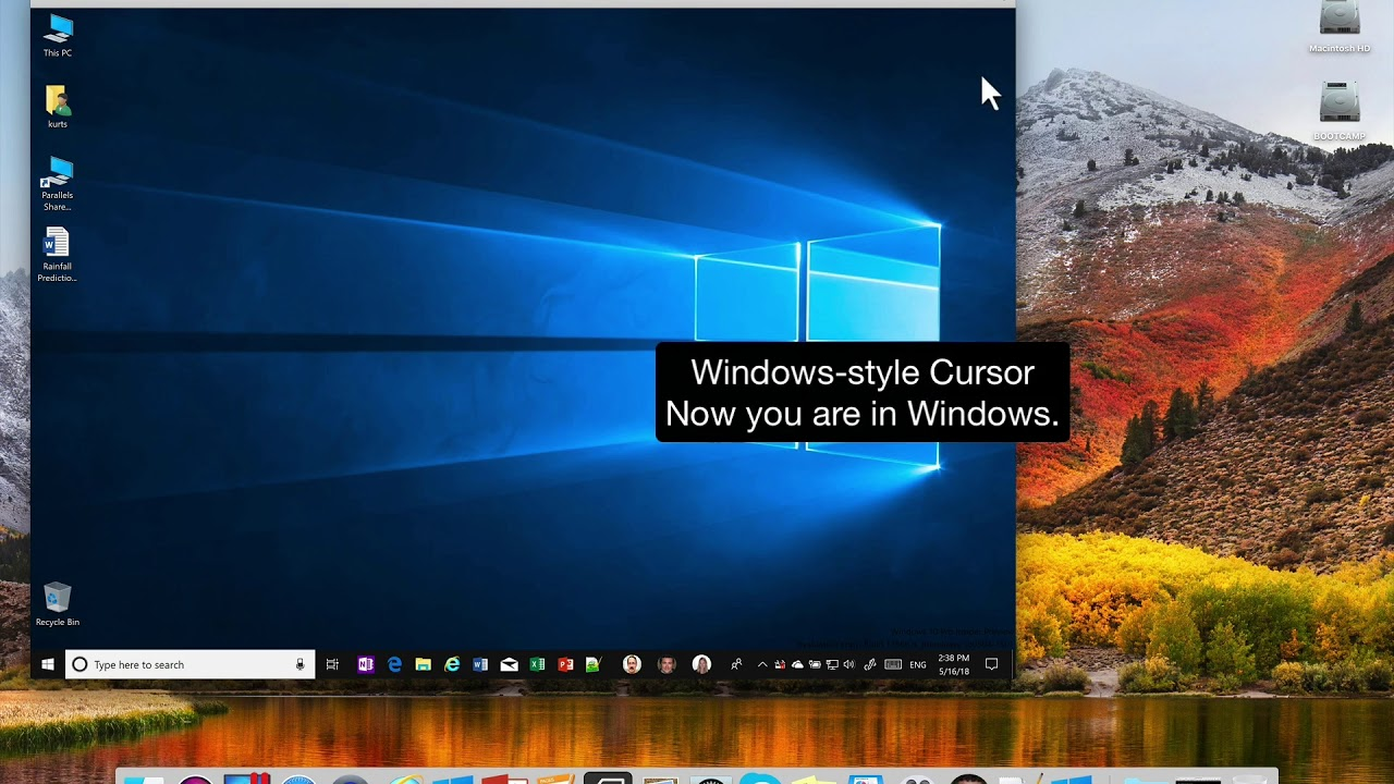 switch from windows to mac parallels