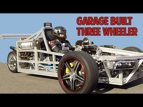 Garage Built Three Wheeler Based On Suzuki Hayabusa SV1000 Not Polaris Slingshot T-Rex Morgan Elio
