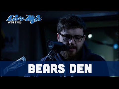 Bears Den Live in Studio at WERS