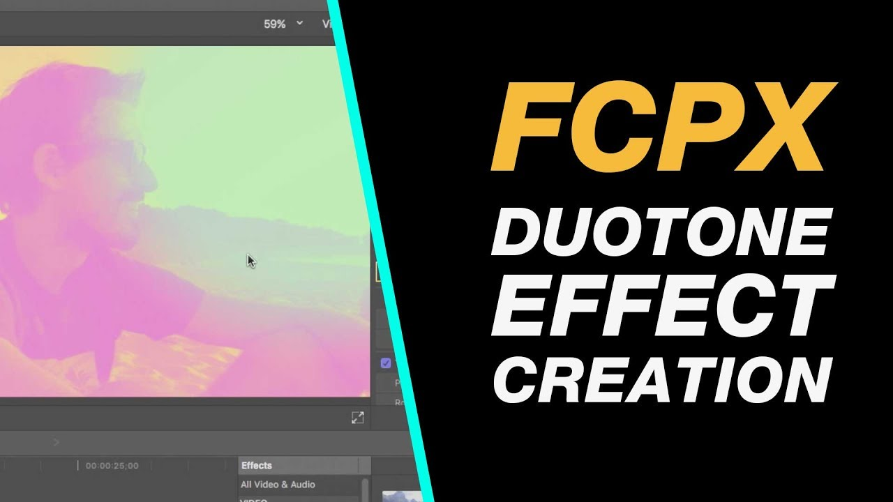 Final Cut Pro X: Duotone Creation Tutorial in FCPX - Beginner Class