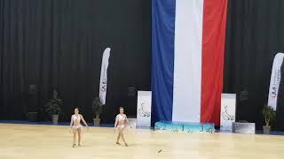 bravolavie.TWIRLING Finale de France 2019 Eline & Lyne