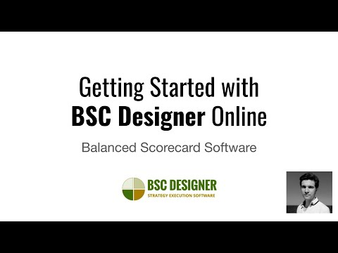 Getting Started With BSC Designer Online - Balanced Scorecard Software - Edited