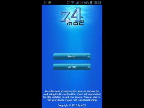 Получение Root прав на андройд,часть 3(z4root)