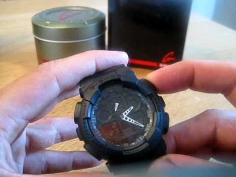 4242d077b15 Casio G-Shock GA-100-1A1ER review + handleiding - YouTube