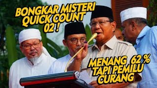 "BONGKAR ! Misteri Real Count Kubu 02 "" Menang 62 % """