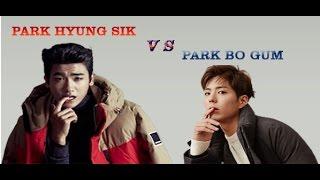 like anyone park bo gum vs park hyung sik