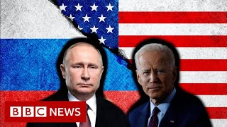 Three things to watch as Joe Biden meets Vladimir Putin - BBC News