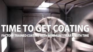 Tesla Wheels Powder Coating Process