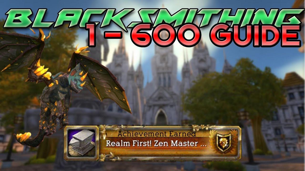 blacksmithing 1 600 guide youtube rh youtube com WoW 1 90 Leveling Guide World of Warcraft Leveling Tips