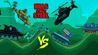 Hills of steel hack - TESLA TANK - Tanks for kids - Games bii