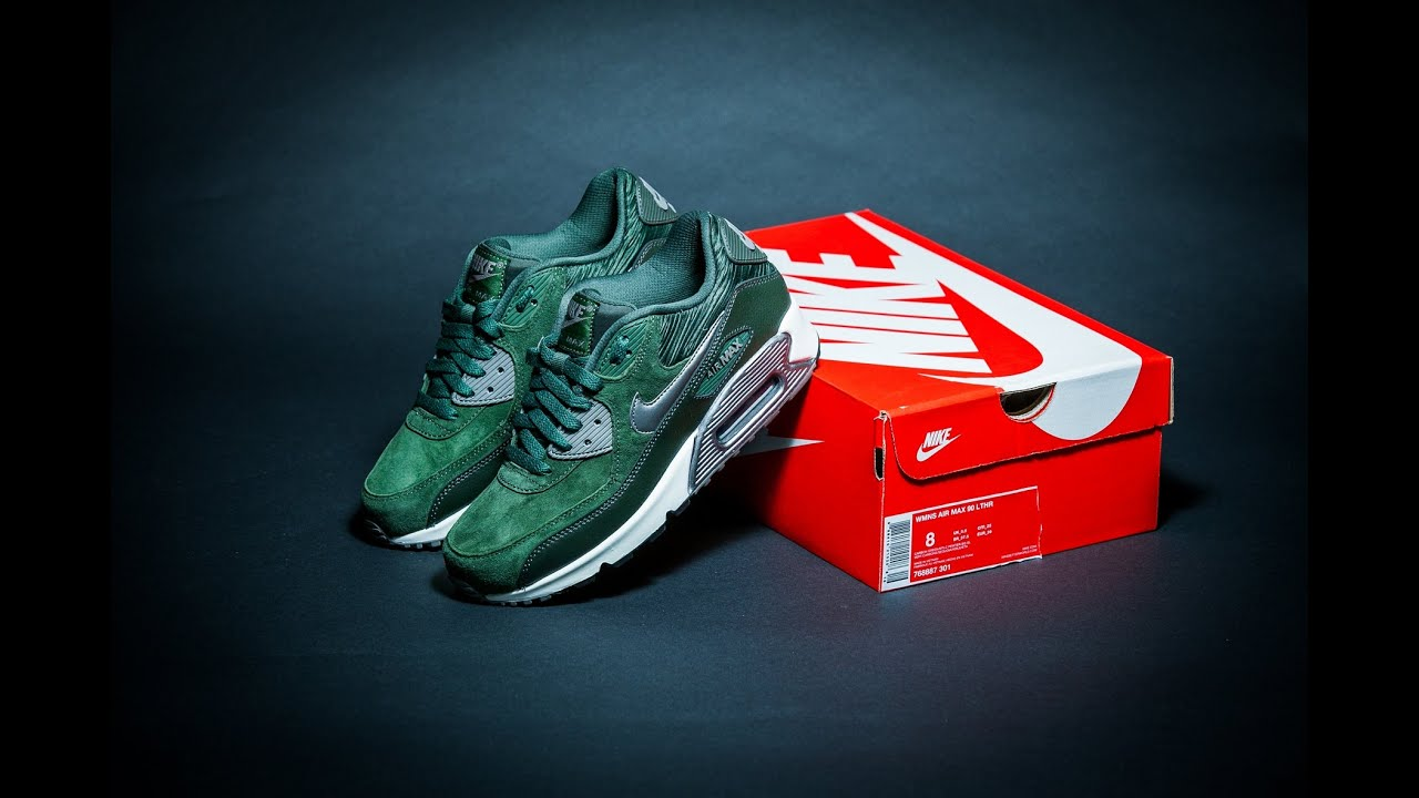 carbon green nike air max 90