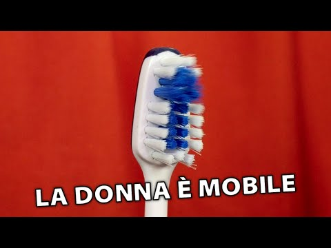 La Donna È Mobile On An Electric Toothbrush