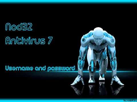 ESET NOD32 Antivirus 7 Username And Password 04-17-2014